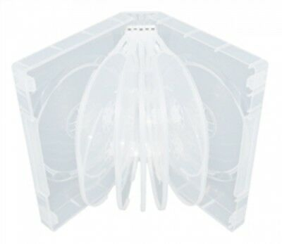 50 Clear 12 Disc DVD Cases