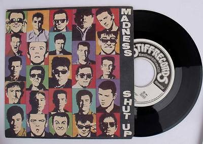 Madness SHUT UP / A TOWN WITH NO NAME  45 GIRI VINILE 1981