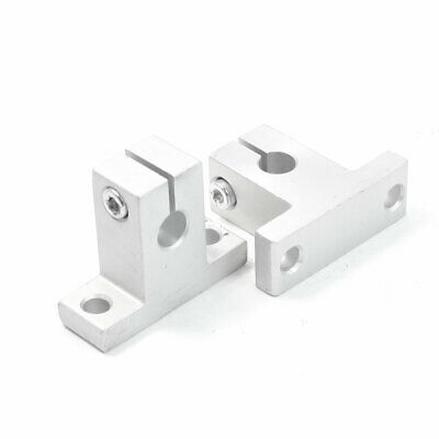 2Pcs SK8 8mm Linear Rail Shaft Clamping Guide Support for XYZ Table