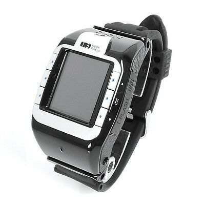 Unlocked Touch Screen Wrist Watch Phone Bluetooth Camera FM Tri-Band GSM Mobile