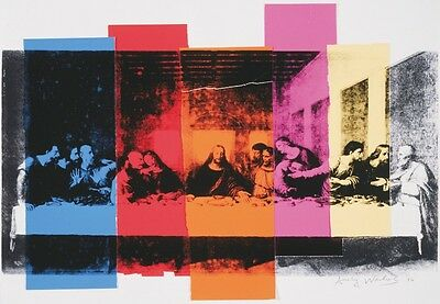 ANDY WARHOL - Detail of The Last Supper, 1986 ART PRINT 52x37