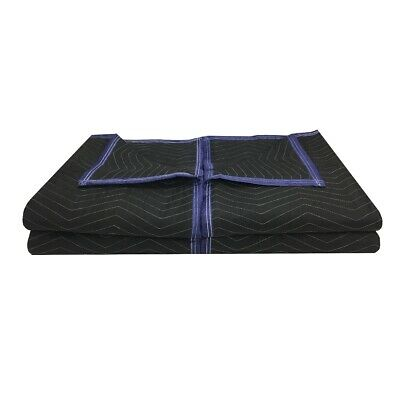 "Moving Blankets Set of 4 - 72"" x 80"" Performance Heavy Duty Professional"