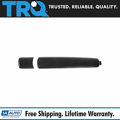 Door Handle & Cap Outside Smooth Black for Nissan Rogue Infiniti G35