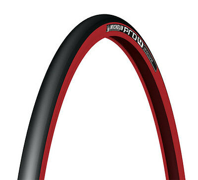 Michelin Pro 4 Service Course Road Bike Tyre Pro4 700 x 23 Red