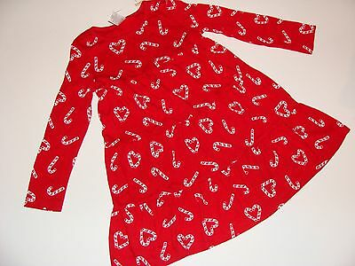 GYMBOREE COZY CUTIE RED CANDY CANE PRINT LEGGINGS 3 4 5 6 7 12 NWT