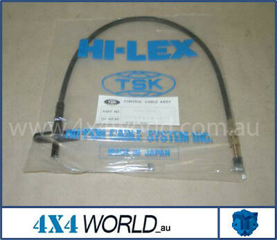 Toyota Landcruiser HJ47 Series Accelerator Cable 2H 8/80-5/82