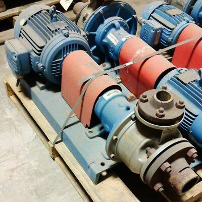 Goulds Pumps Centrifugal Pump W/ 7.5Hp Weg Motor