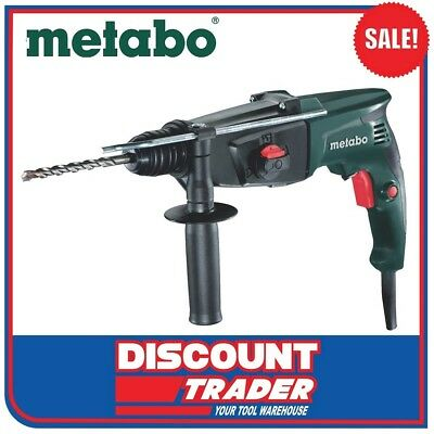 Metabo 800W 3 Mode SDS+ Rotary Hammer Drill Electronic Hammer - KHE 2444