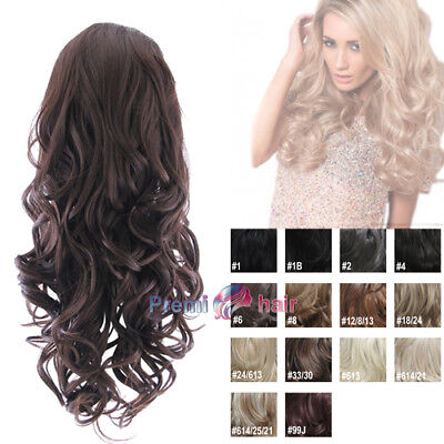 Stranded Katie Big volume glam curl hairpiece 3/4 head Wig Various colours