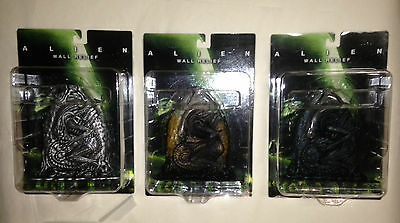 ALIEN SOTA Toys X-Plus Wall Relief EGG all 3 variant Set Brand NEW