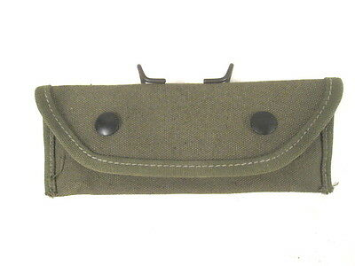 WWII US M15 Rifle Grenade Sight Canvas Carry Case Dated 1944 - Unissued