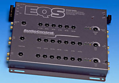 AudioControl EQS 6 Channel 7 Band Equaliser Line Driver