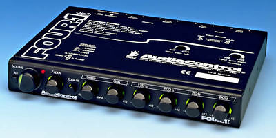 AudioControl Four.1i In Dash Car Audio Equaliser with D