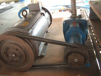 BURKS Turbine Pump Model ES8M With Baldor 3.0 HP Motor