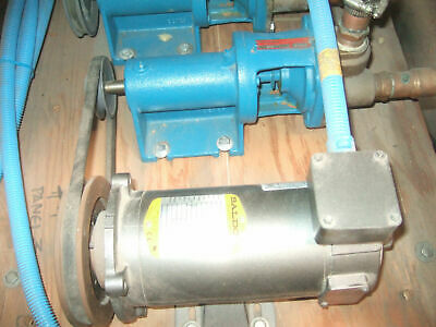 BURKS Turbine Pump Model ET6M With Baldor .33 HP Motor