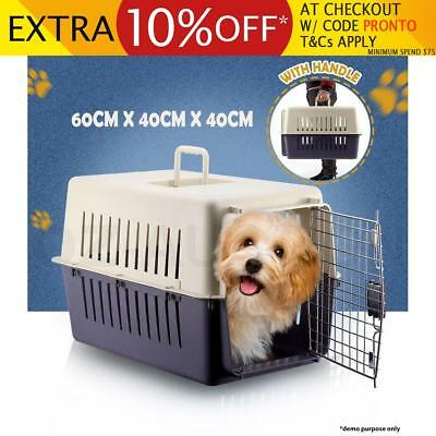 Airline Approved Portable Dog Cat Tote Crate Pet Carrier Kennel Travel Carry Bag