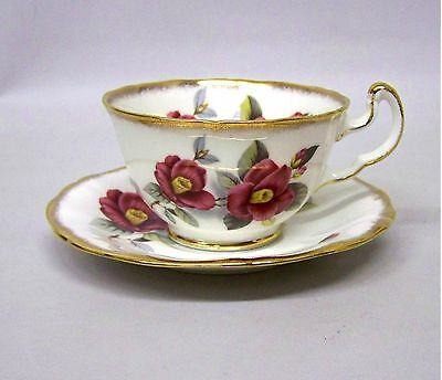 Royal Adderley Fine Bone China Cup and Saucer Set by Ridcway Potteries , England