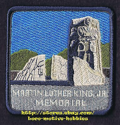 LMH PATCH Badge  MARTIN LUTHER KING Jr. MEMORIAL  West Potomac Park  WASHINGTON