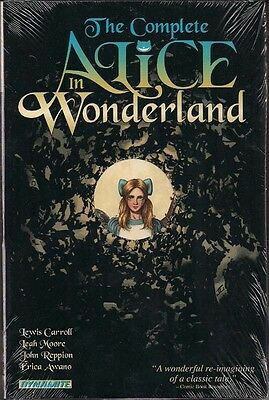 Alice In Wonderland (The Complete) Dynamite Hc Gn Lewis Carroll Leah Moore New