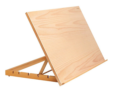 Reeves A2 Art & Craft Work Station Table Wooden Artist Easel Large Drawing Board