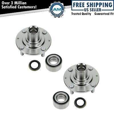 Wheel Hub & Bearing Front Left & Right Pair Set for 86-89 Honda Accord