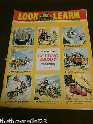 LOOK and LEARN # 199 - GETTING ABOUT QUIZ - NOV 6 1965