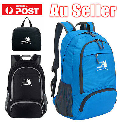 Waterproof Mens Womens Backpack School Bag Travel Satchel Laptop Bag Rucksack