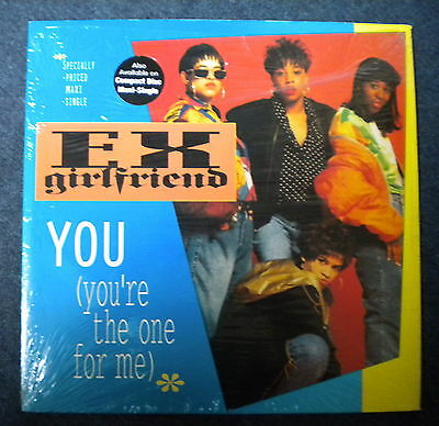"""Ex-Girlfriend You (You're The One For Me) 12"""" Reprise Records 1991"""