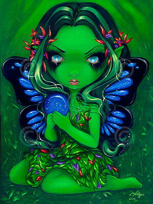 Darling Dragonling IV by Jasmine Becket-Griffith Gothic Poster 11x14 ART PRINT