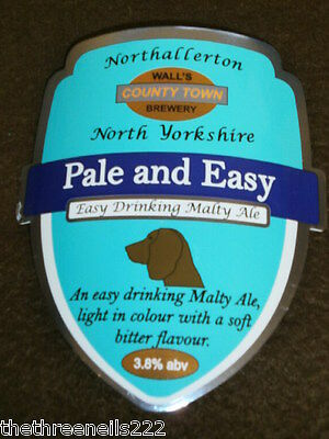 Beer Pump Clip - Wall's Pale And Easy