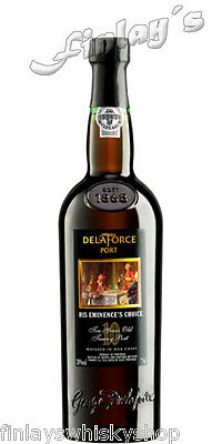 (30,33€/L) Delaforce His Eminences Choice 10 Jahre Portwein Port 0,75 L