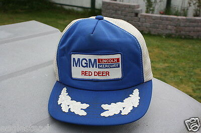 Ball Cap Hat - MGM Lincoln Mercury - Red Deer Alberta - Car Auto Dealer (H784)