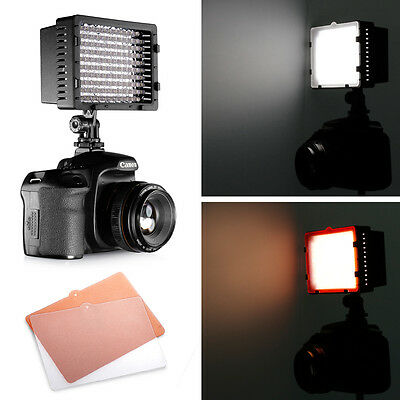 Pro CN-126 LED Video Light for Canon Nikon DSLR Camera DV Camcorder