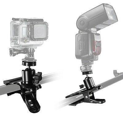 Neewer Adjustable Ball Head with Clip for SLR, Digital SLR  Video cameras