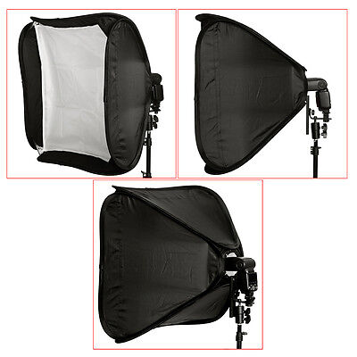 "Neewer 24"" Portable  Softbox Cube for Studio Photography Flash Speedlite"