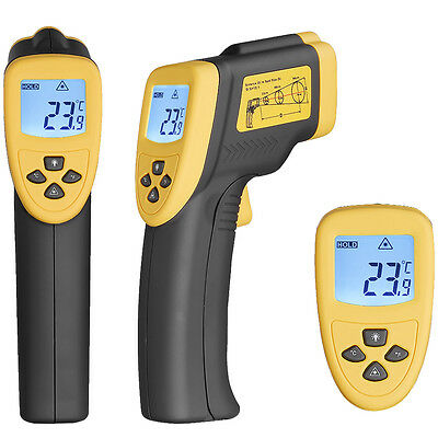 Non Contact IR Infrared Digital Temperature Gun Thermometer DT8750