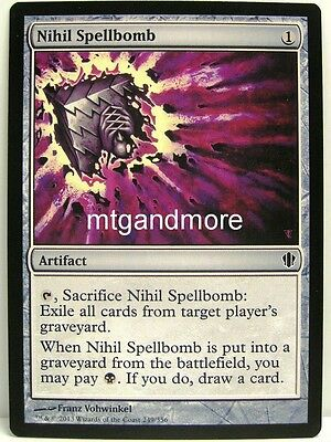 Magic Commander 2013 - 4x Nihil Spellbomb