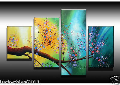Hand-painted Modern Asian Art Abstract Landscape Oil Painting On Canvas