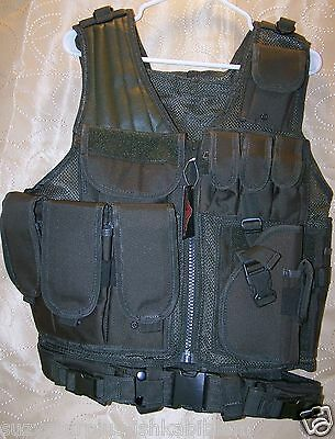 Red Rock Outdoor Gear OD Cross Draw Vest one size fully adjustable each E8411