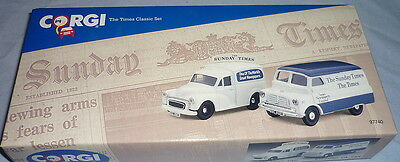CORGI COLLECTABLE TWO THE TIMES PERIOD VANS 97740 BOXED