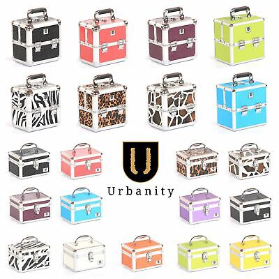 Small Vanity Case Box by Urbanity Makeup Jewelery Trinket Cosmetic Storage Bag