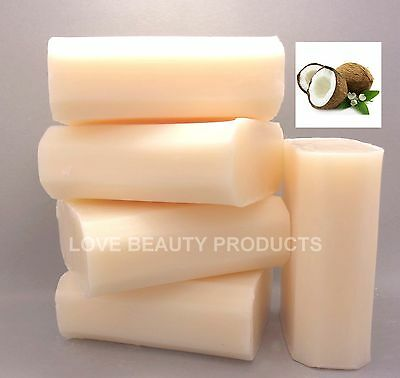 4 x Australian Made Natural Coconut Soap 100gm Free Post