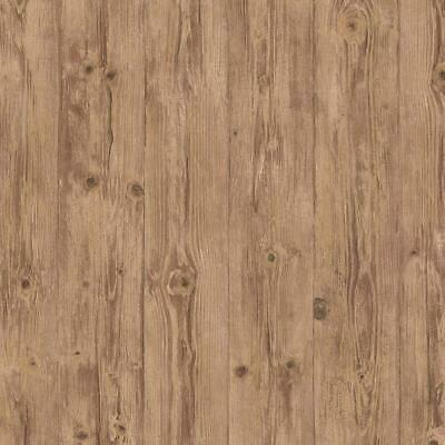 Golden Caramel Wood With Grain & Knots Wallpaper LL29502