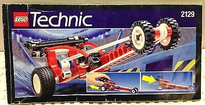 LEGO INSTRUCTION  MANUAL BOOK ONLY - 2129 - VINTAGE TECHNIC / BLAST OFF DRAGSTER