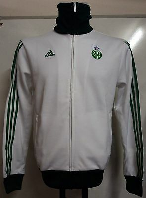 St Etienne White Track Top By Adidas Size Small Brand New With Tags