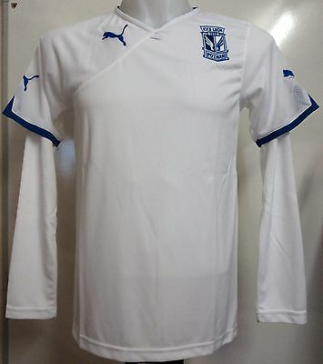 Lech Poznan White Long Sleeve Jersey By Puma Adults Size Xxl Brand New With Tags