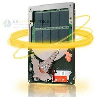 "Seagate 1TB Laptop Solid State 2.5"" SATA III Hybrid Drive 8GB SSD & Laptop SSHD"