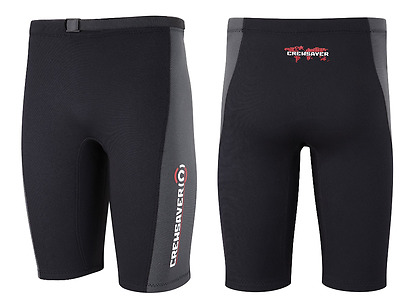 "CREWSAVER MOKO 2MM Neoprene Canoe Kayak Sail Surf Wetsuit Shorts Size 28""-30"""