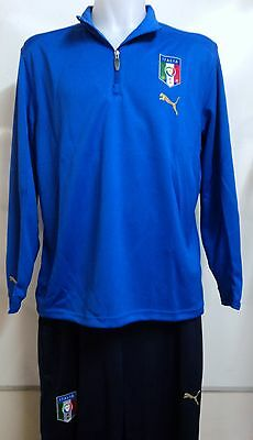 Italy Blue And Navy Training Suit By Puma Adults Size Xl Brand New With Tags