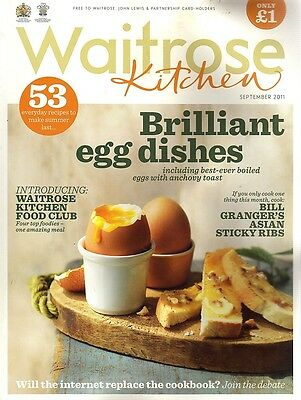 Waitrose Kitchen Magazine - September 2011